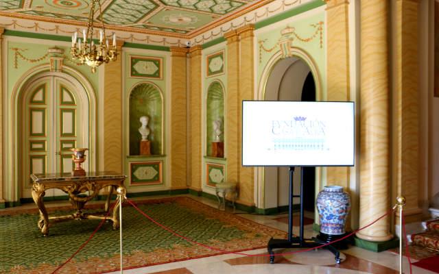 Entrada principal del Palacio de Liria - Destino y Sabor