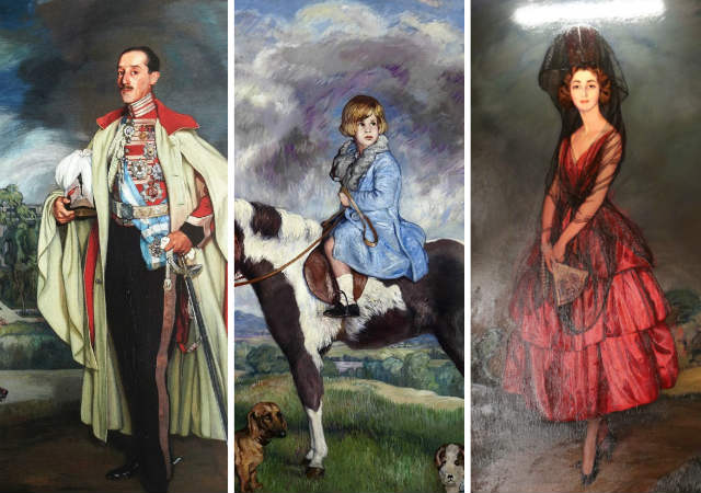 Familia del Duque de Alba pintados por Zuloaga - Destino y Sabor