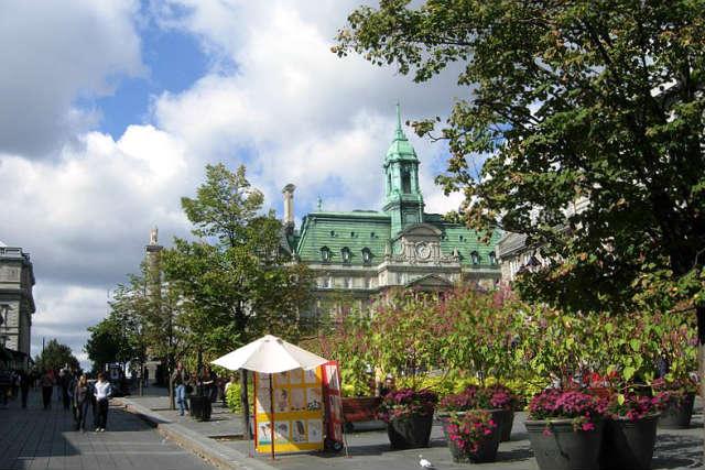 Plaza Jacques-Cartier de Montreal - Imagen de Wikipedia
