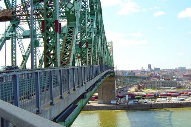 Puente de acero de Jacques-Cartier - Imagen de Siqbal