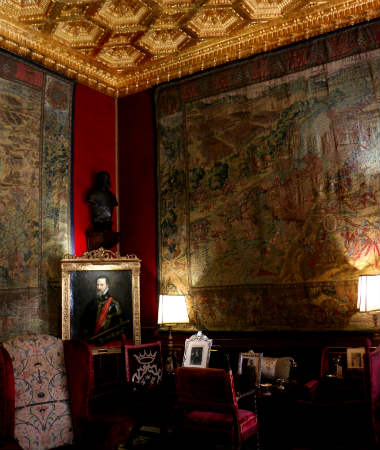 Sala del Gran Duque en el Palacio de Liria - Destino y Sabor