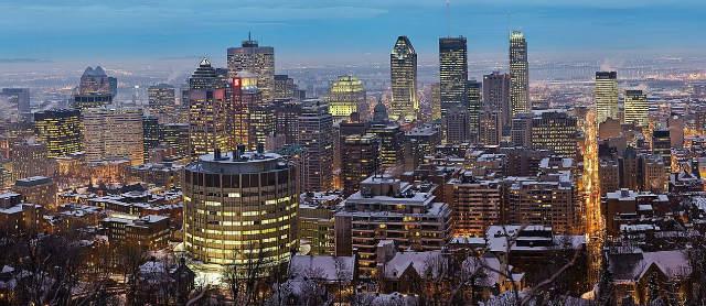 Skyline de Montreal - Imagen de David Lliff