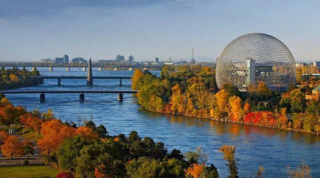 Río San Lorenzo a su paso por Montreal