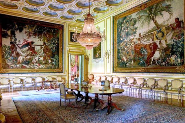 Salón comedor de gala del Palacio de Liria - Imagen del Palacio