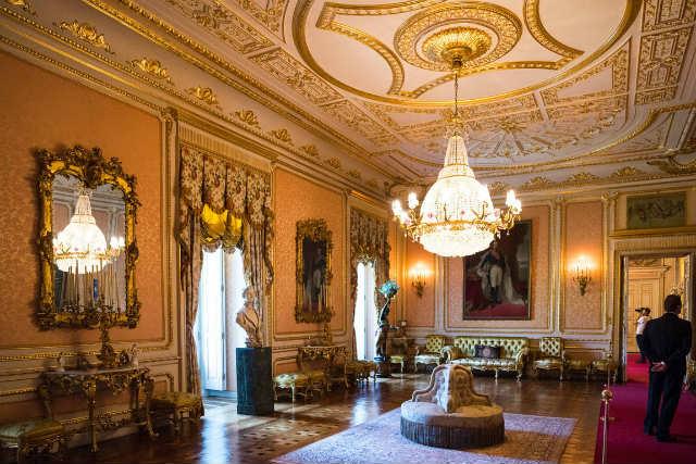 Salón de baile del Palacio de Liria - Imagen de David Alonso Rincón