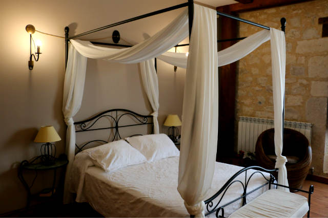 Habitación más estandar del hotel Las Baronas de Santa Cruz de Salcedo - Destino y Sabor