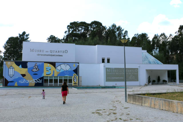 Entrada al Museu do Quartzo Viseu- Destino y Sabor