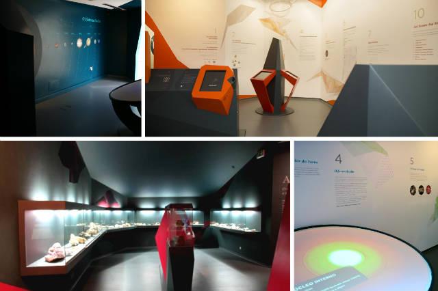 Salas interactivas del Museu do Quartzo Viseu - Destino y Sabor