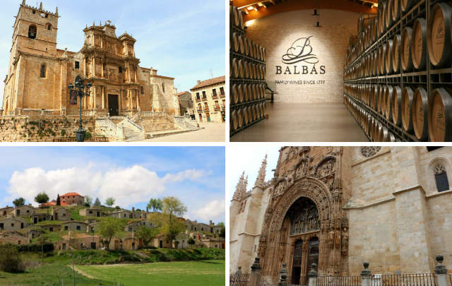 Atractivos próximos visitables de Santa Cruz de Salcedo - Composición de Destino y Sabor