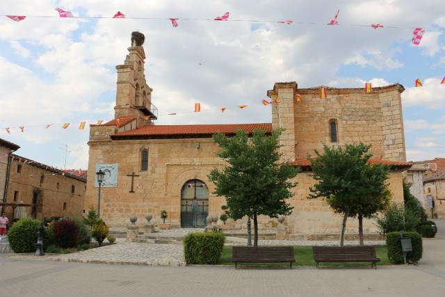 Iglesia de Santa Cruz de Salcedo - Destino Castilla y León
