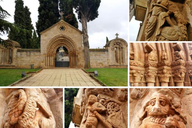 Portada del hospital de San Juan de Arce de Navarrete - Destino y Sabor