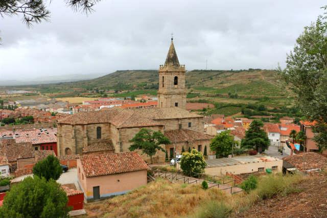 Vistas desde el cerro de Navarrete, donde hubo una fortaleza - Destino y Sabor