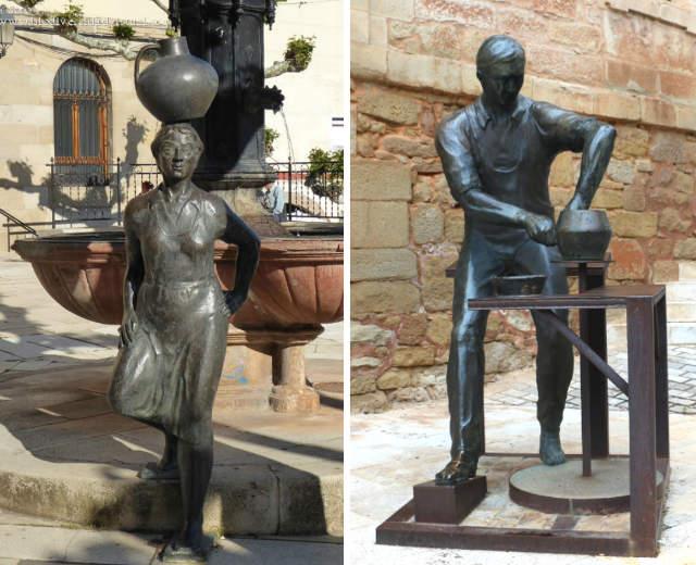 Esculturas de Navarrete - Destino y Sabor