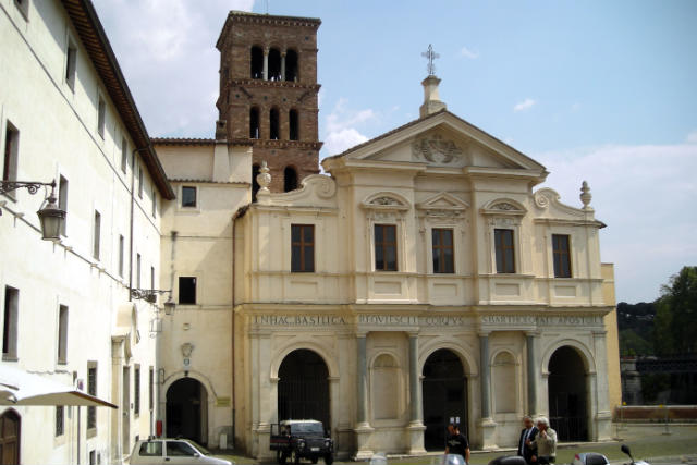 Iglesia de San Bartolomeo de la Isola Tiberina – Destino y Sabor