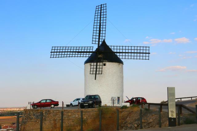 Molino Bolero, también oficina de turismo de Consuegra - Destino y Sabor