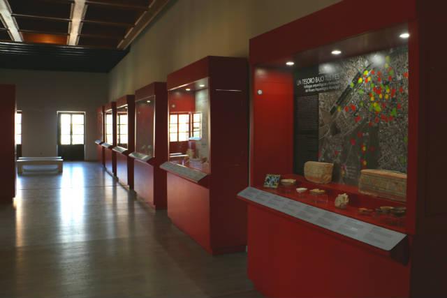 Interior del Museo Arqueológico de Consuegra - Destino y Sabor