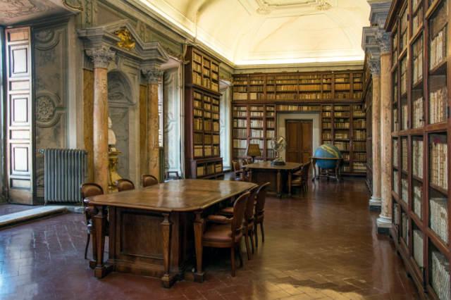 Biblioteca dell'Accademia dei Lincei - Imagen de Open House Roma