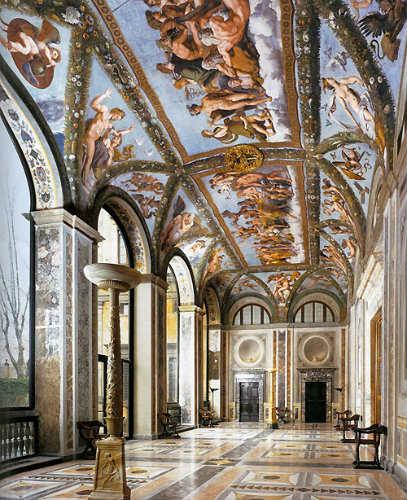 Frescos de Villa Farnesilla - Imagen de Palacios de Europa