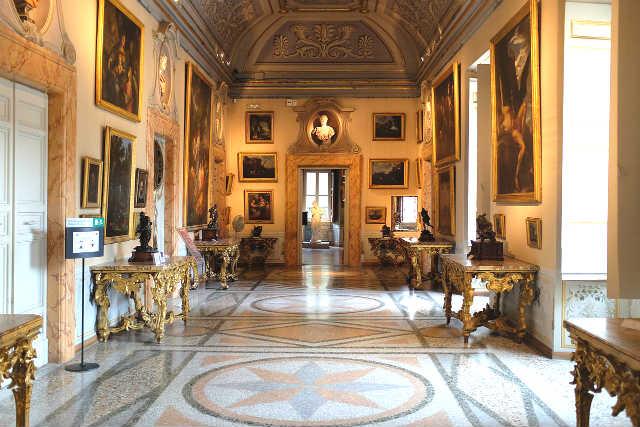 Galleria Nazionale d'Arte Antica in the Palazzo Corsini - Imagen de Alexander Van Loon