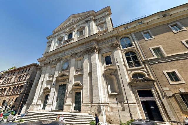 Iglesia de los Santos Blas y Carlos ai Catinari - Destino y Sabor