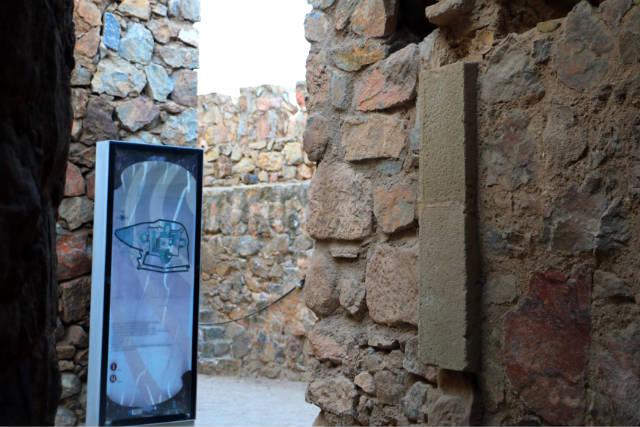 Interior del Castillo de Consuegra - Destino y Sabor