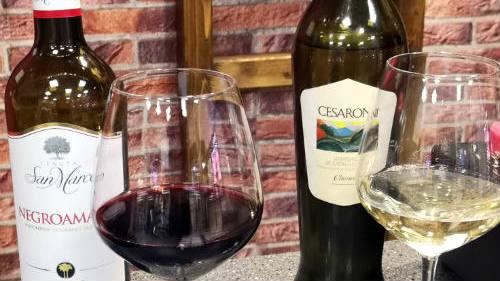 Vinos Amarone y Verdecchio - Imagen de A Tavola con il Conte
