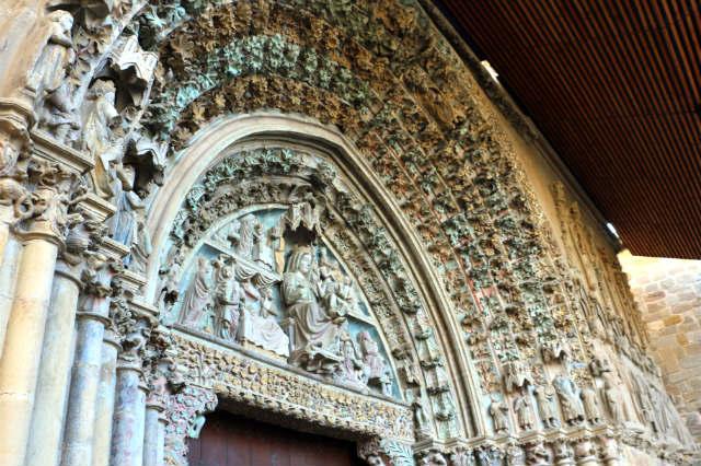 Pórtico de entrada a Santa María - Destino y Sabor