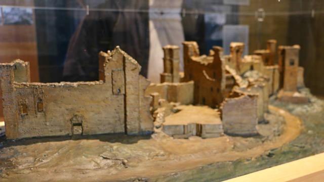 Estado original del Castillo palacio de Olite - Destino y Sabor
