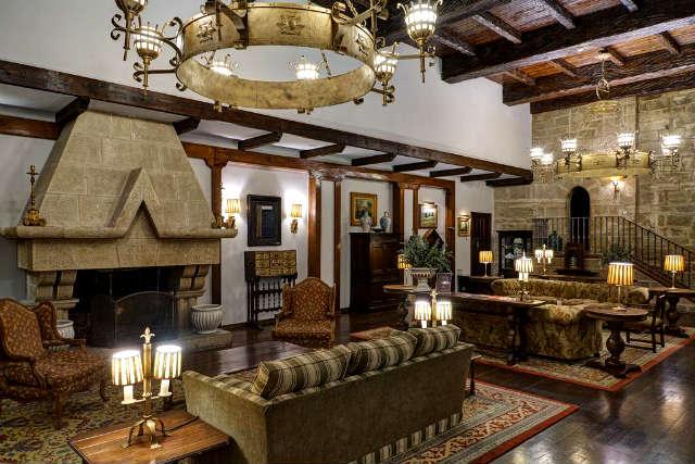 Interior del Parador Nacional de Turismo de Olite - Imagen de Paradores