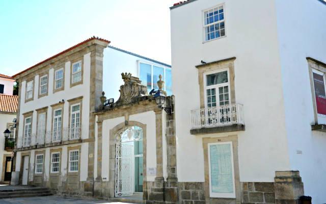 Entrada al Museo Diocesano de Lamego