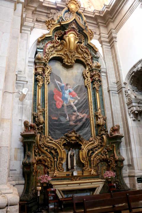 Magnifico cuadro dentro de la Catedral - Destino y Sabor