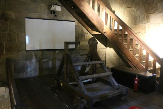 Interior de la torre del homenaje de Lamego - Destino y Sabor