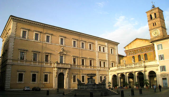 Piazza di Santa Maria in Trastévere - Imagen de Roma Art Lover