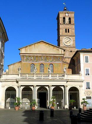 Basílica de Santa María en Trastévere - Destino y Sabor