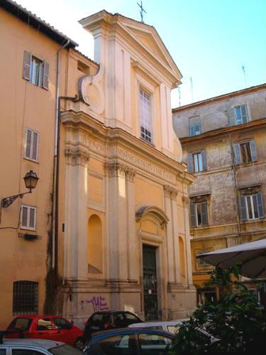 Chiesa di Santa Margherita en Trastevere - Imagen Wikipedia