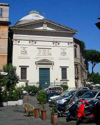 Fachada de la chiesa di San Giovanni della Malva - Imagen de Roma Art Lover