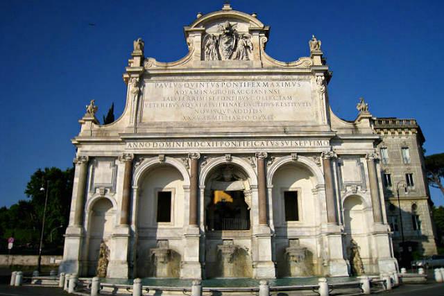 Fontana dell'Acqua Paola o il Fontanone - Imagen de Roma Art Lover