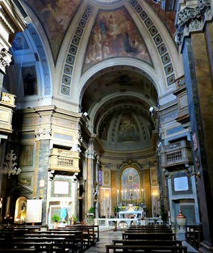 Interior de Santa Dorotea - Imagen de Rome Art Lover
