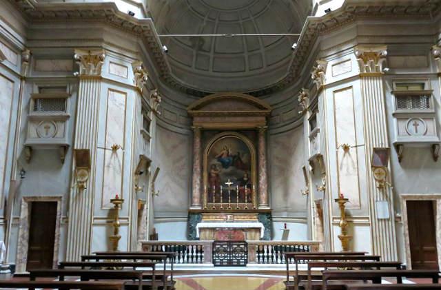 Interior de la chiesa di San Giovanni della Malva - Imagen de Roma Art Lover