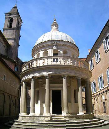 Tempettio di Bramante - Imagen de Roma Art Lover