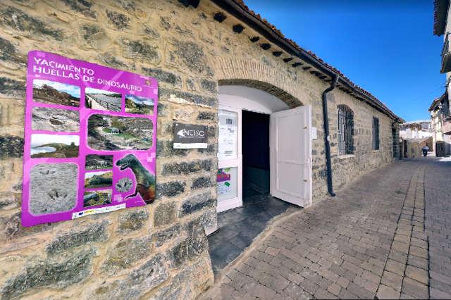 Fachada del Centro Paleontológico de Enciso - Destino y Sabor