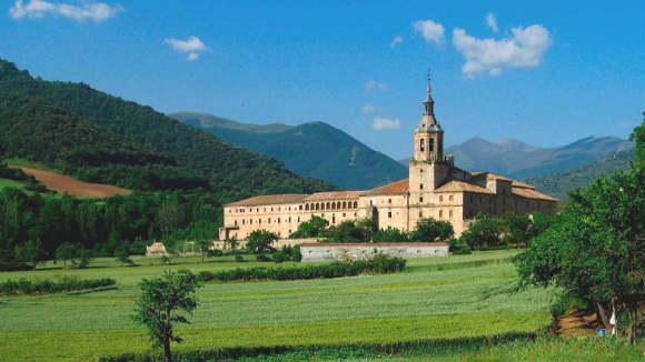 Monasterio de Yuso en San Millán - Imagen del Monasterio