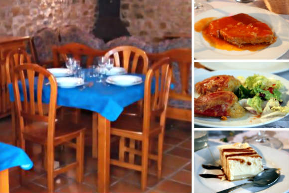 Comer en Rte. de la Posada Santa Rita de Enciso - Destino y Sabor
