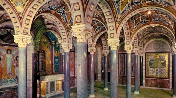 Cripta de Santa Cecilia - Imagen de Sotterranei di Roma