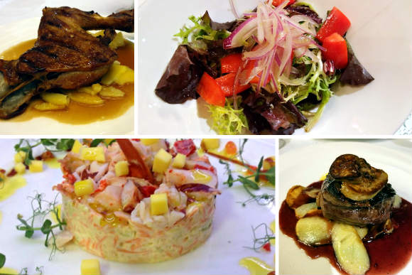 Platos del Restaurante Los Parajes - Composición de Destino y Sabor