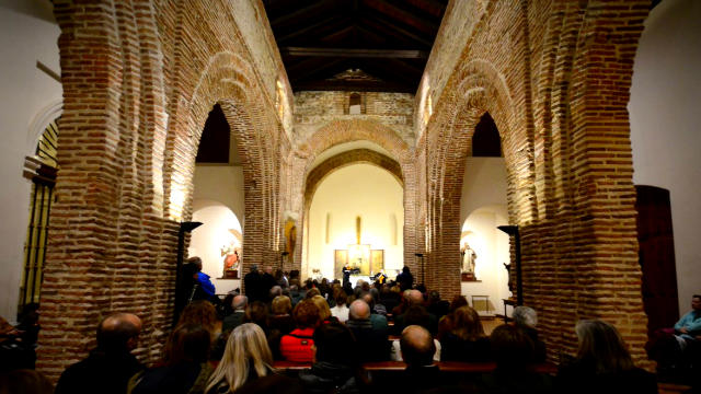 Interior de la Iglesia de Santiago de Boadilla del Monte