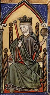 El rey Alfonso VIII de Castilla