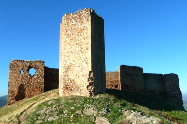 Castillo de Caracuel en Corral de Calatrava - Imagen de Turismo Castilla la Mancha