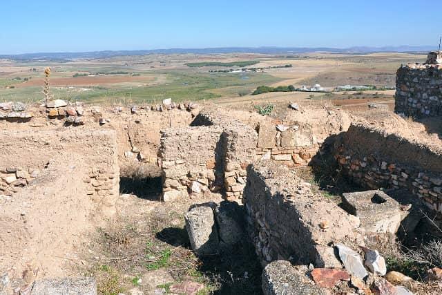 Panorámica desde Castillo de Alarcos - Imagen de Xemenendura