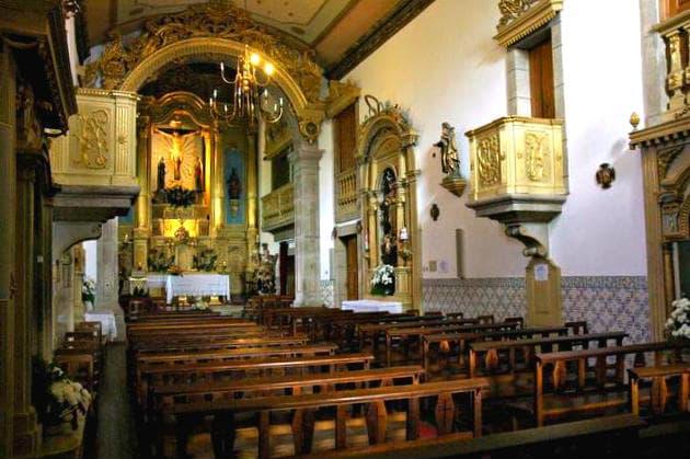 Interior de la Iglesia del Calvario - Imagen de GuiaDaCidade
